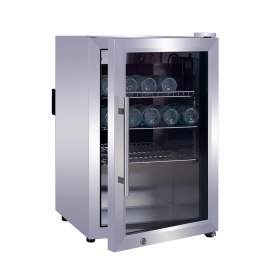 63 Bottles Stainless Steel Beverage / Wine Cooler 2.33 cu.ft/66 L
