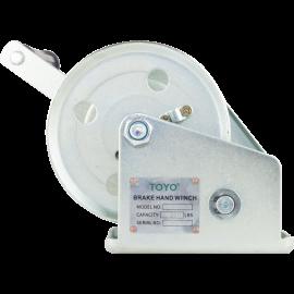 TOYO Hand Winch C Model with Brake 1200lb