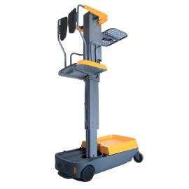 Electric Order Picker with Reachable Height 197""