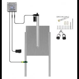 Automatic Chicken Coop Door Opener Light Sensor control 12V DC
