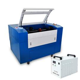 Co2 Laser Engraving Machine Laser Cutting Machine Classics Design Reci 90W Laser Engraver Cutter 36x24 Inches With Honeycomb Chiller