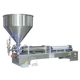 3.4-34 OZ Paste/Liquid Filling Machine Semi-Auto One-Head Filler