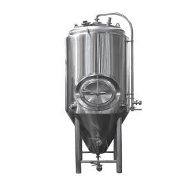 7BBL Pro Conical Fermenter 304 Stainless Steel Mirror Polish Finish