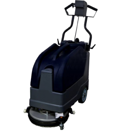 """15"""" Foldable Auto Battery Walk-behind Floor Scrubber 8 Gallons"""