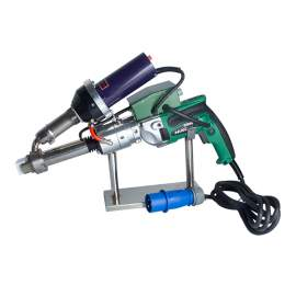 Handheld Plastic Welding Extruder Extrusion Gun for PP HDPE LDPE Welding Hand Extruder Welder