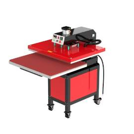 """32"""" x 40"""" Pneumatic Heat Press Machine 80 x 100mm Pull Out Worktable"""