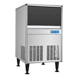 Undercounter Ice Maker Full Size Cube Air Cooled 125 lb. 21 in.