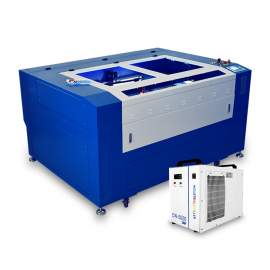 130W Co2 Laser Cutting Machine Laser Engraving Machine 51 x 35 In Laser Engraver Laser Cutter Machine With Chiller Honeycomb