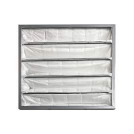"20"" x 20"" x 22"" MERV9 5 Pockets Synthetic Pocket Air Filter Qty 2"