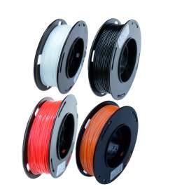 3D Printer TPU Filament 4 Colors x 0.55Lbs 1.75mm