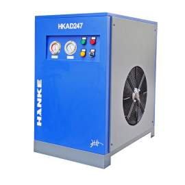 247 CFM Refrigerated Compressed Air Dryer, SS Plate Heat Exchanger