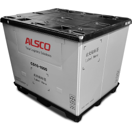 """48 x 40 x 35""""  Collapsible Pallet Pack Container 2600 lbs Cap."""