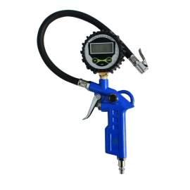 Digital Gauge Tire Inflation Zinc Alloy Deflation 220 PSI 2