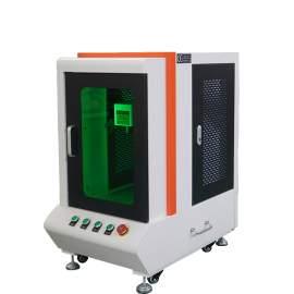 Max 30W Full Cover Fiber Laser Marking Machine For Metal Engraving