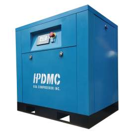 21 CFM Rotary Screw Air Compressor 230V 1PH 5 HP 125 PSI VSD