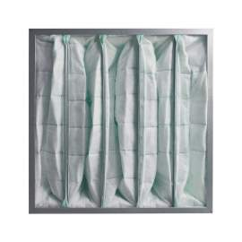 "5 Pockets Synthetic Pocket Air Filter 20"" x 20"" x 22"" MERV11 Qty 2"