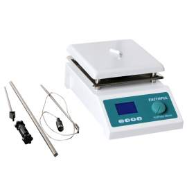 7.6 x 7.6in 5L  Digital Ceramic plate Laboratory Magnetic Stirrer Hot Plate