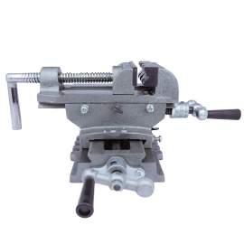 """Cross Vise 6""""  Jaw Opening 4-15/16""""  Jaw Depth 1-9/16"""" Made In Taiwan"""