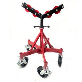 Max Pipe Jack Stand Heavy-Duty Stand