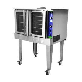 Single Deck Natural Gas Commercial Convection Oven - 54,000BTU