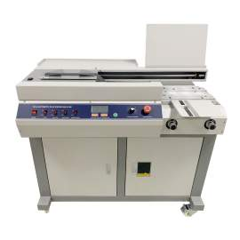 "Automatic Electric Single Glue 12.6"" Perfect Binder Binding Machine"