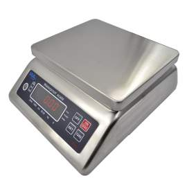 Washdown LED Digital Compact Bench Scale, 66lb/30kg x 0.011lb/5g