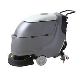 """20"""" Walk Behind Floor Scrubber 100AH Battery 16 Gallon"""