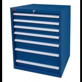 "Industrial Modular Drawer Cabinet 7 Drawers 28 1/2"" x 28 1/2"" x 40"""