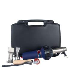 Heat Gun 1600W Plastic Hot Air Welder Heating Gun Kitfor PVC Plastic Welding
