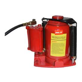 Air Hydraulic Bottle Jack 32 Ton (64,000 lb) Heavy Duty Truck Red
