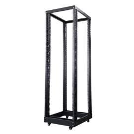 19 inch 42U 4post Adjustable Open Frame Server Rack