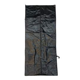 "Body Bag  Economical Size 92""×36"" 6 Handle Corpse Bag Black"