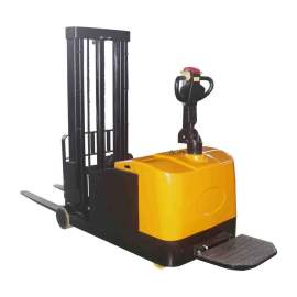 "Fully Powered Lift & Drive Counter Balanced Stacker 3300 Lb. 118"" Lift"