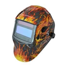 Industrial Welding Helmet 4 Sensors Replaceable Battery Polyamides PA