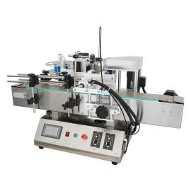 """Tabletop Labeling Machine for 3/4"""" – 4"""" Round Bottle Automatic Labeler"""