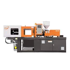 Himalia HM50 Servo Motor Plastic Injection Molding Machine with Dryer Hopper and Auto-Loader