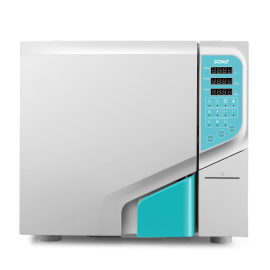 23L Desktop Steam Sterilizer Autoclave 3 Times Pre-Vacuum Class B