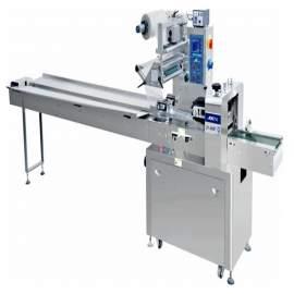JY-550F Three Servo Motor Stainless Steel Flow Wrap Packaging Machine