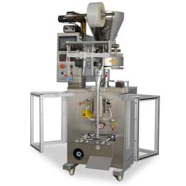 Granule Packaging Machine Vertical Form-Fill-Seal With 2 Bag Formers