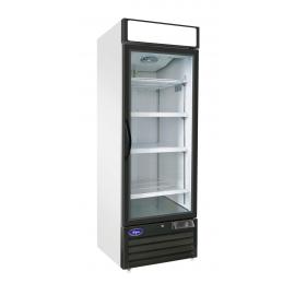Valpro  23 cu. ft. Stainless Steel Single Glass Door Freezer