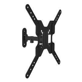 """Full-Motion TV Wall Mount for 17-55"""" TVs With VESA 400x400mm 66lbs"""