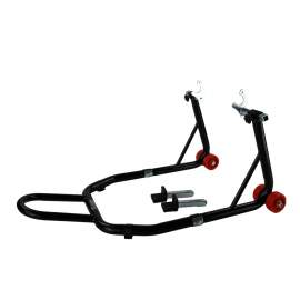 Black Motorcycle Rear Stand Capacity 441lbs