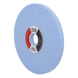 """Surface Grinding Wheel (D)8""""x(H)1-1/4""""x(T)1/2"""": 3SG 46H Made In Taiwan"""