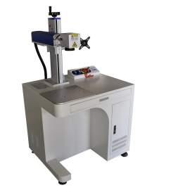 30W Cabinet Fiber Laser Marking Machine FDA Certified P8