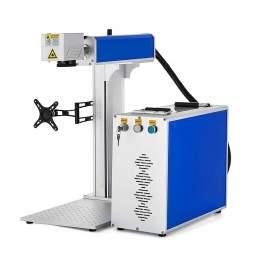 30W Divided Fiber Laser Marking Machine USB Port P9