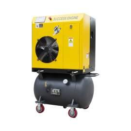 15HP Rotary Screw Air Compressor 64CFM 116 PSI 230V 3-P 60Hz w/42Gal