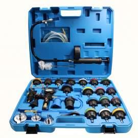 28pcs Cooling system /water tank radiator leakage pressure tester kit
