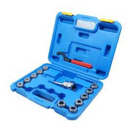 """MT2 Shank ER32 Chuck with 11 pc Collet Set, 1/8"""" - 3/4"""" by 16th"""