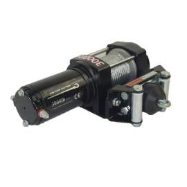 12V DC Powered Electric Winch 3000Lb Capacity Steel Wire Rope