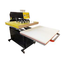 """31"""" x 39"""" Pneumatic Heat Press Machine Pull Out Worktable 220V 3 Phase"""